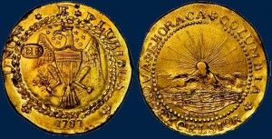 1787 Brasher Doubloon EB on Wing