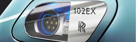 Rolls-Royce Phantom Electric 102EX At Geneva Motor Show 2011