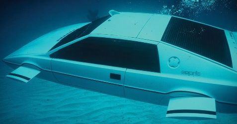 James Bond Submarine Car Sells for $1 million