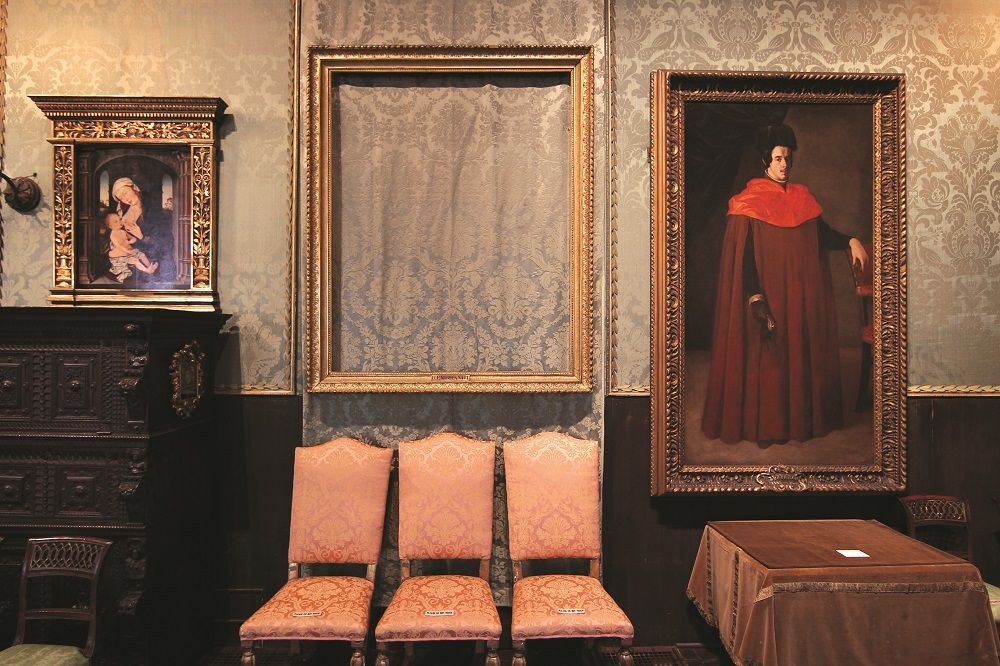Stolen Paintings From Isabella Steward Gardner Museum