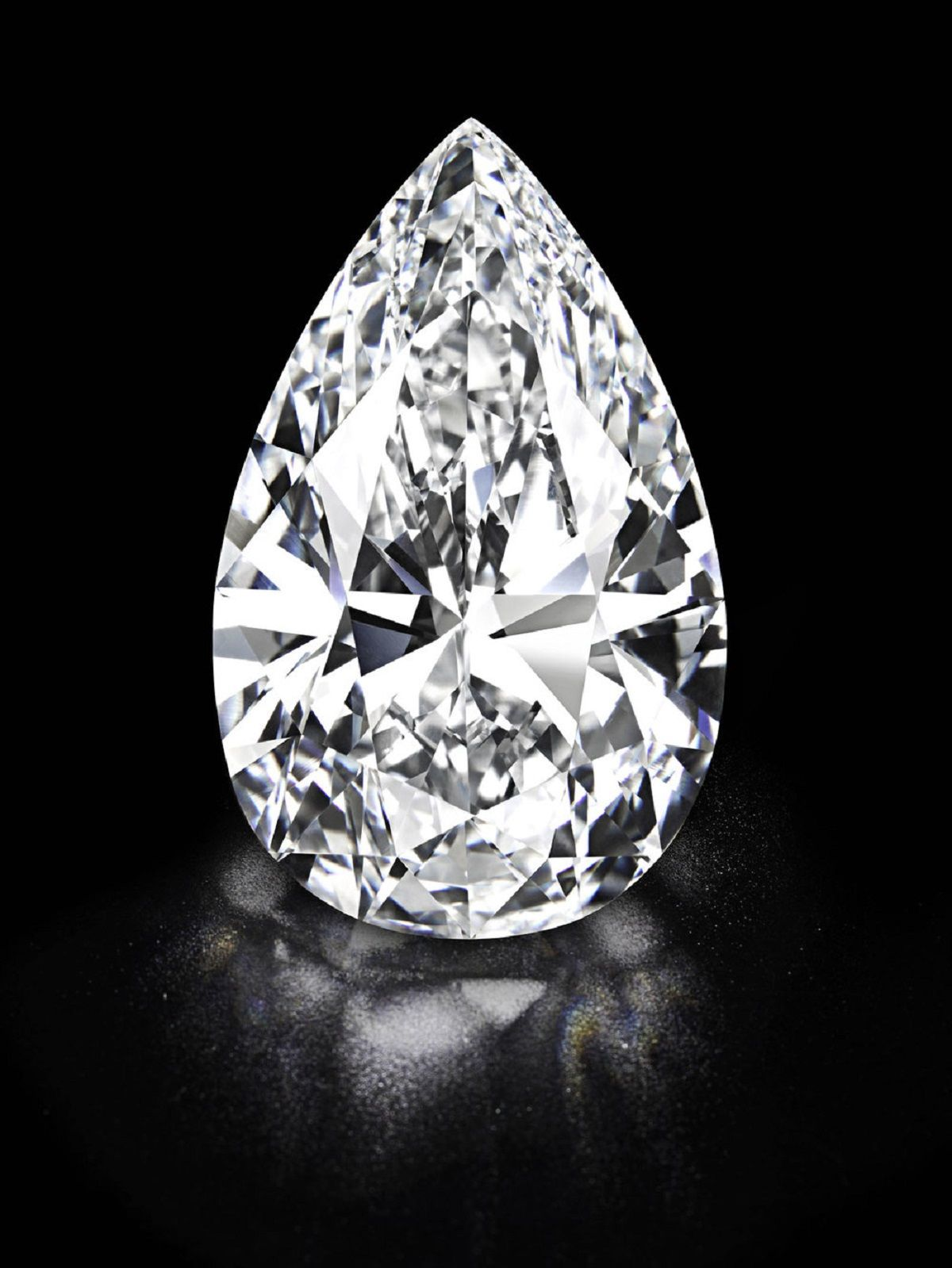 Largest Pear Shape Diamond in the World - Shira diamonds