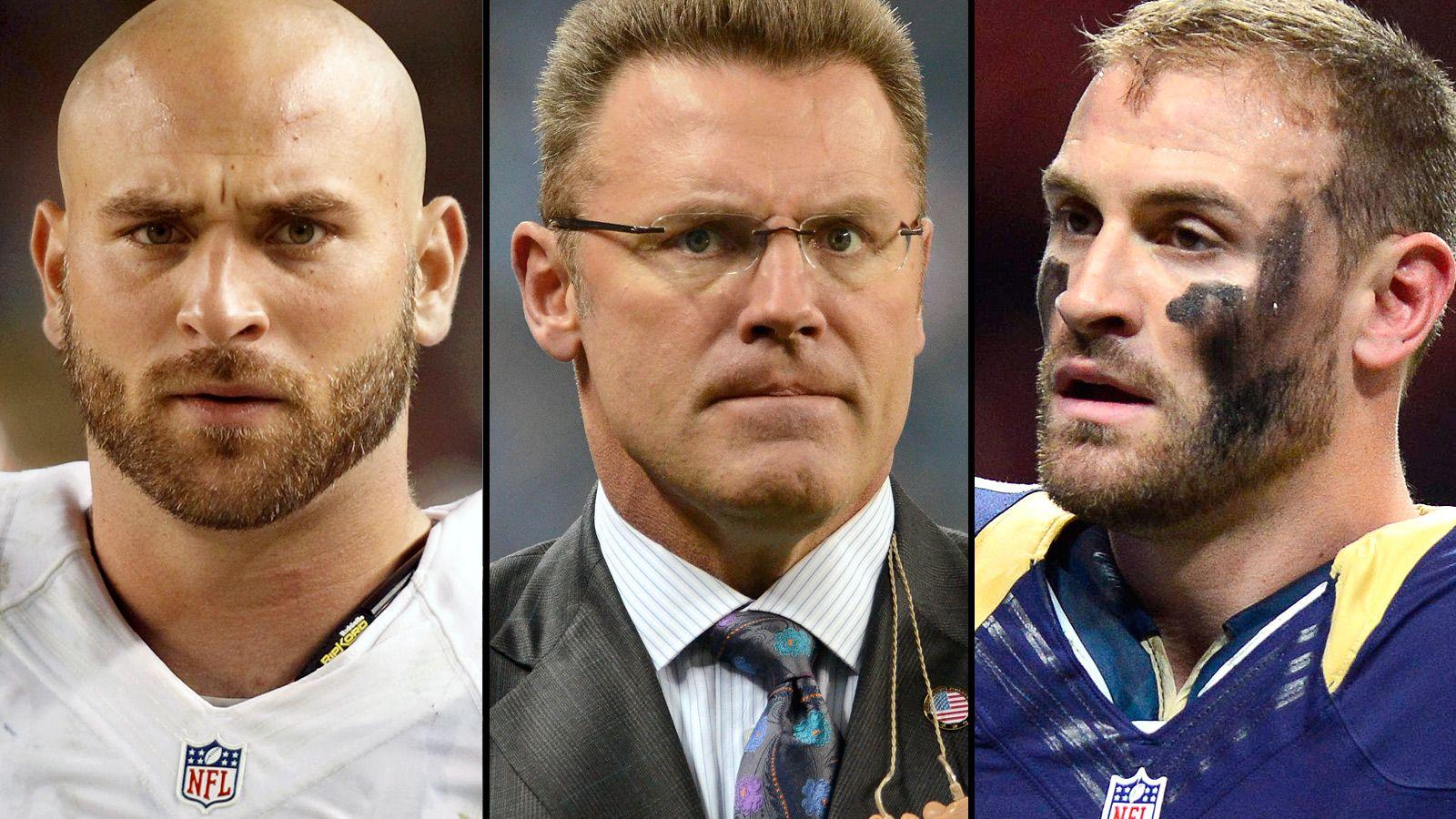 4. Howie, Chris, Kyle Long - Estimated Net Worth: $22 Million