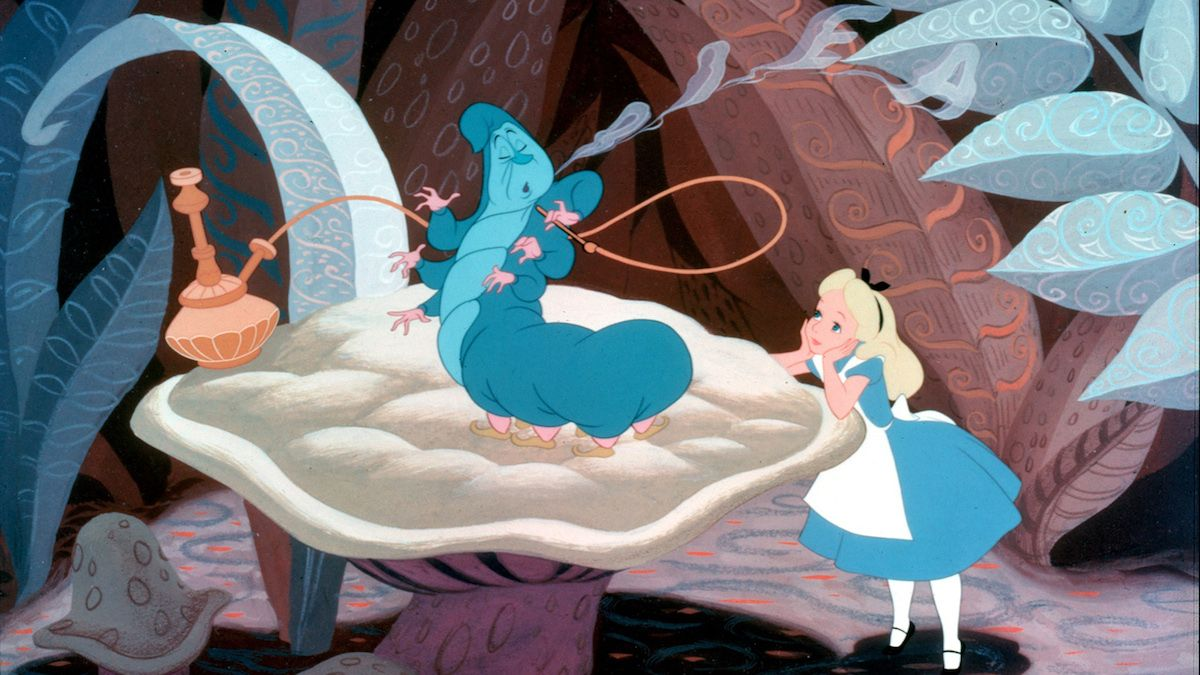 9. Alice In Wonderland - Drug Related Imagery
