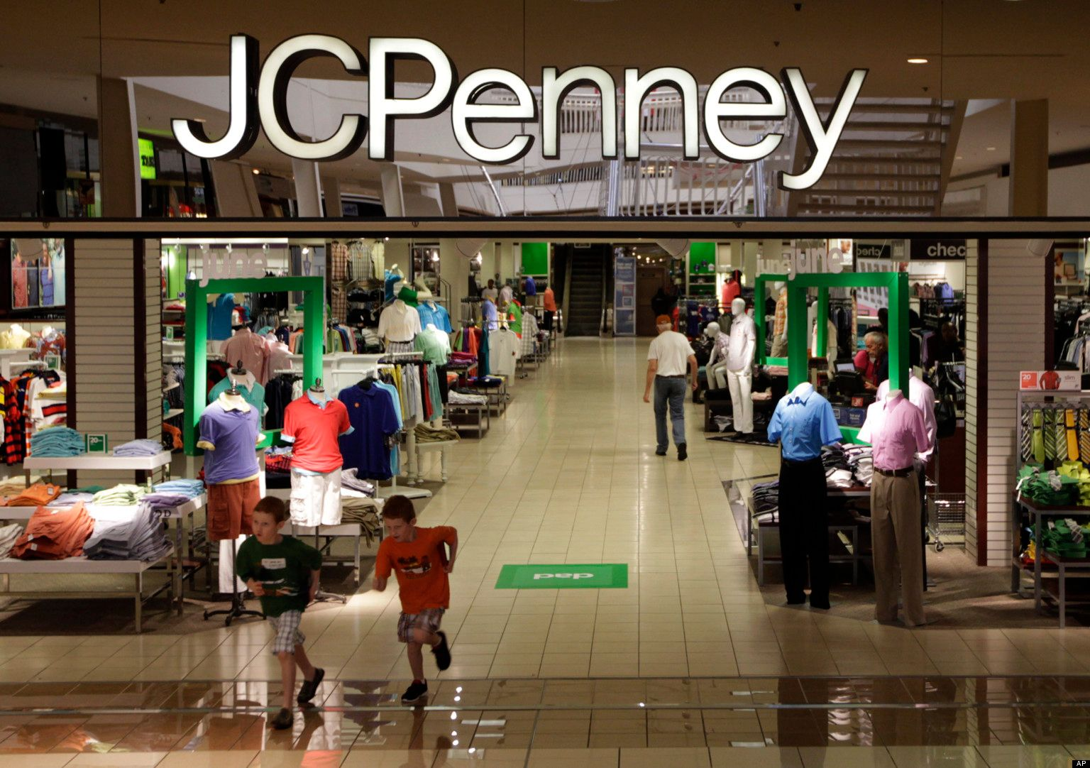 JC Penny stock