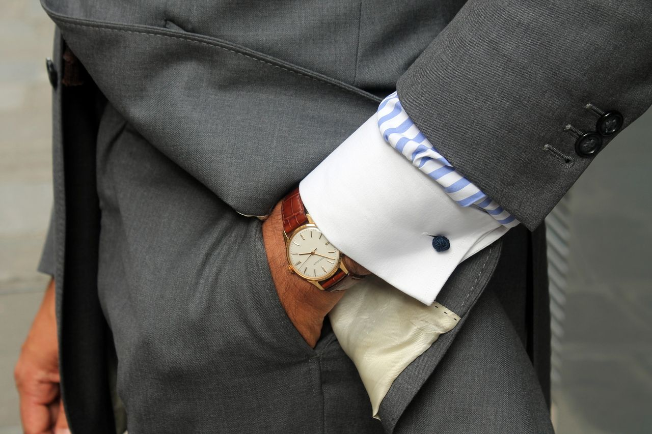 Wristwatch For Classy Business Man