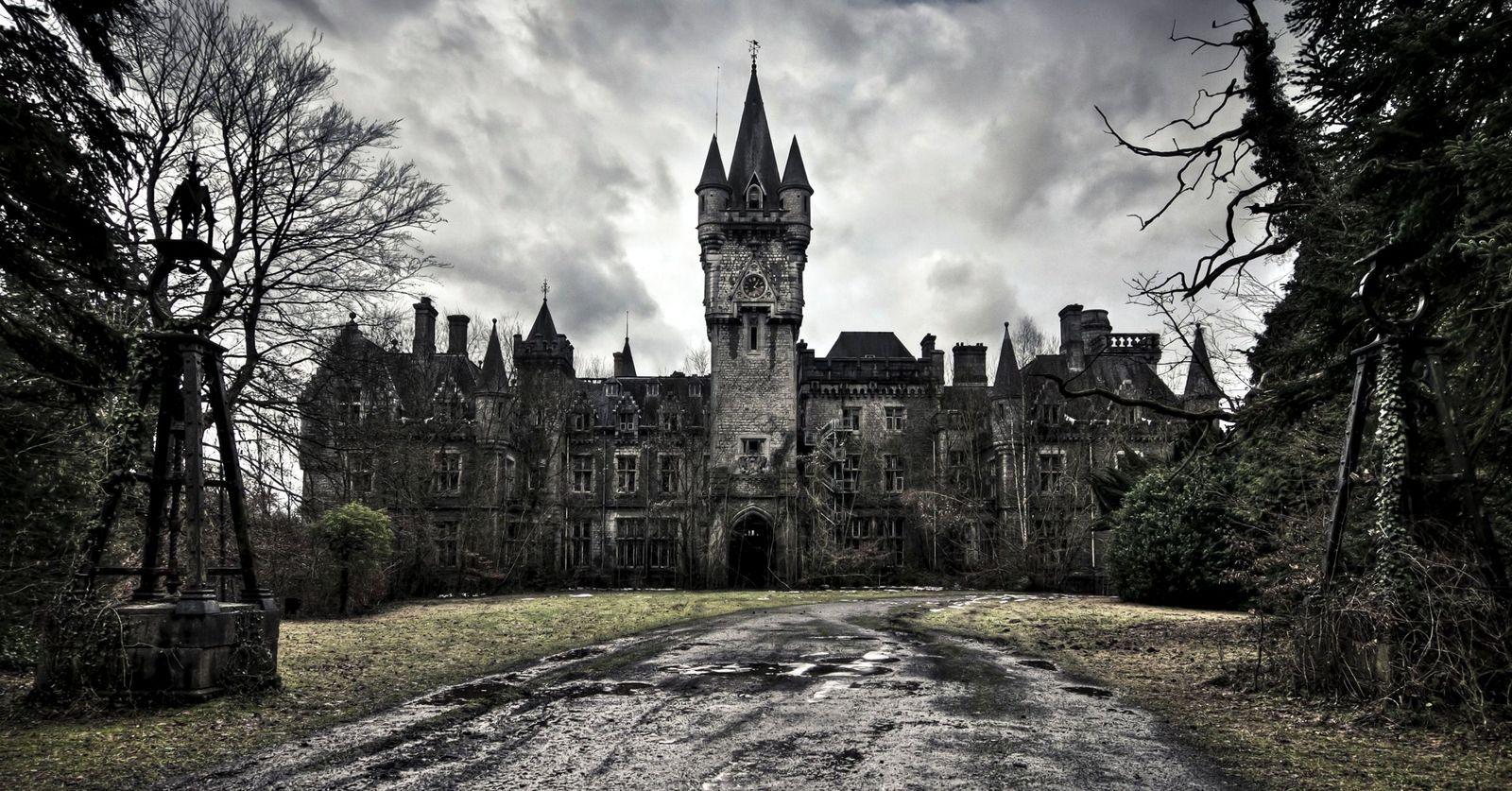haunted castle, hayaletli şato