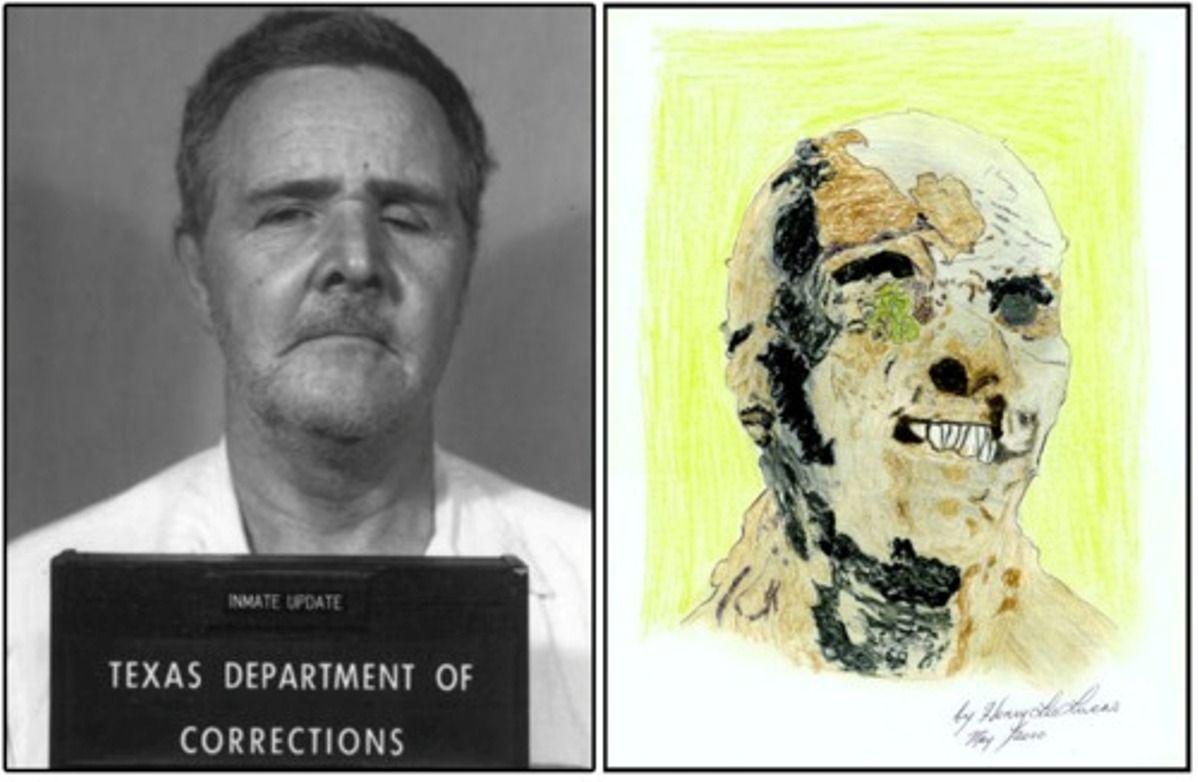 Henry Lee Lucas Drawing Henry Lee Lucas