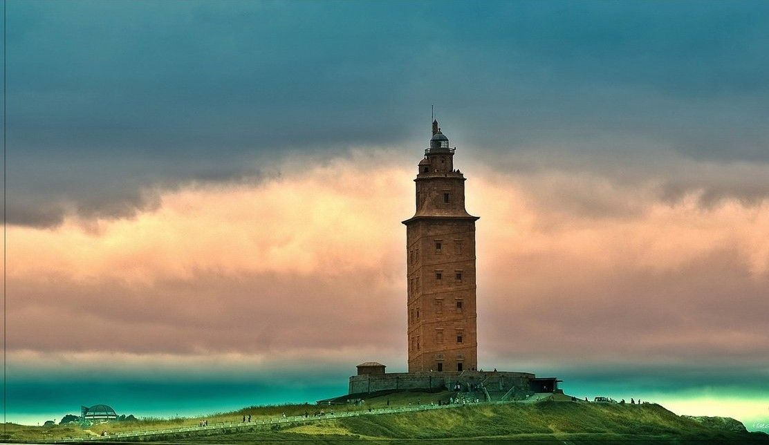 9. Tower of Hercules, Spain