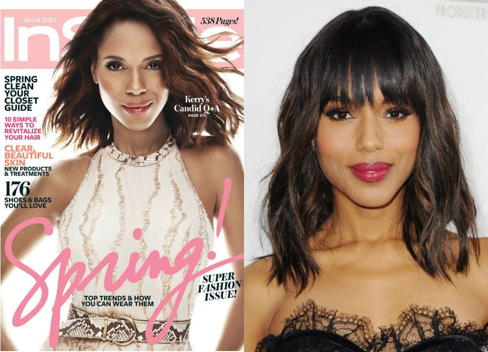 9. Kerry Washington's InStyle cover