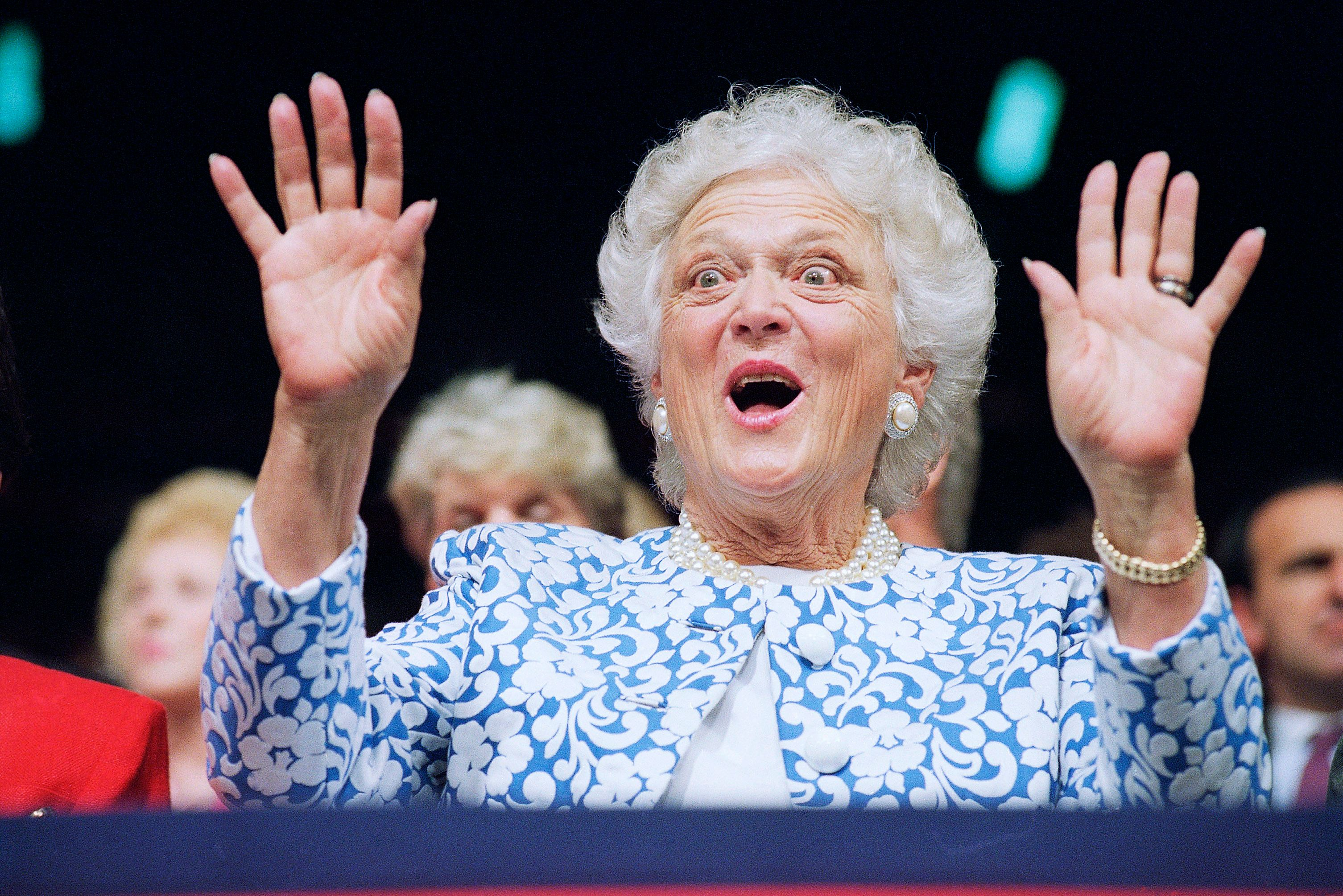 10. Barbara Bush on the Iraq War