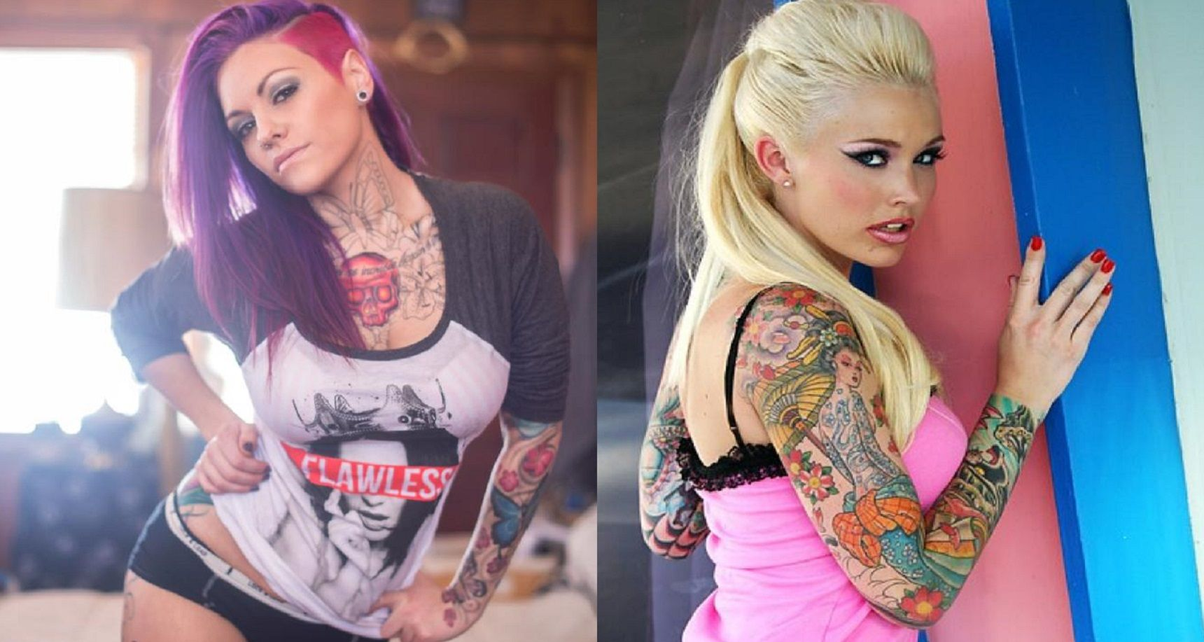 The 20 Sexiest Tattoo Models Of 2015