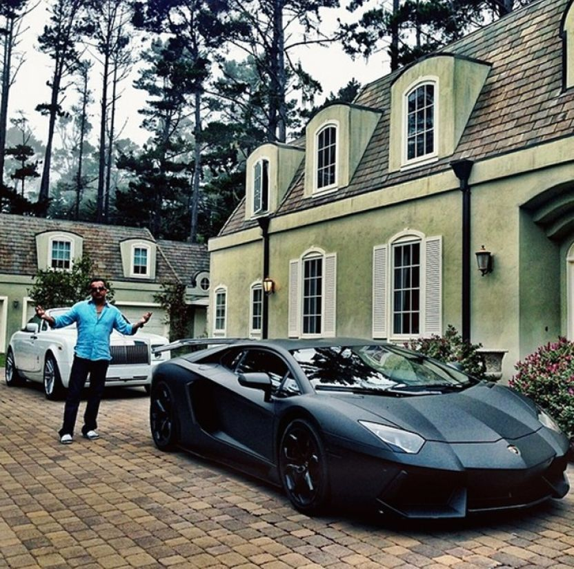 12. He Loves To Collect Supercars