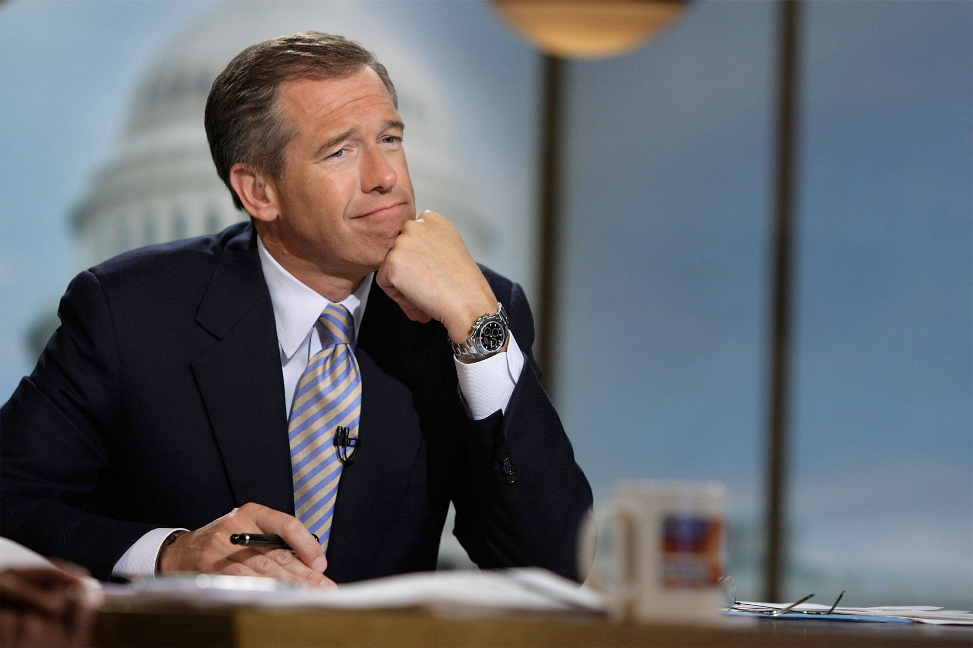 8. Brian Williams Lied About His Time in Iraq