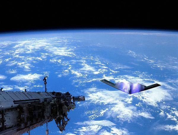 5. UFOs Are A Part Of The Secret Space Fleet Of The US
