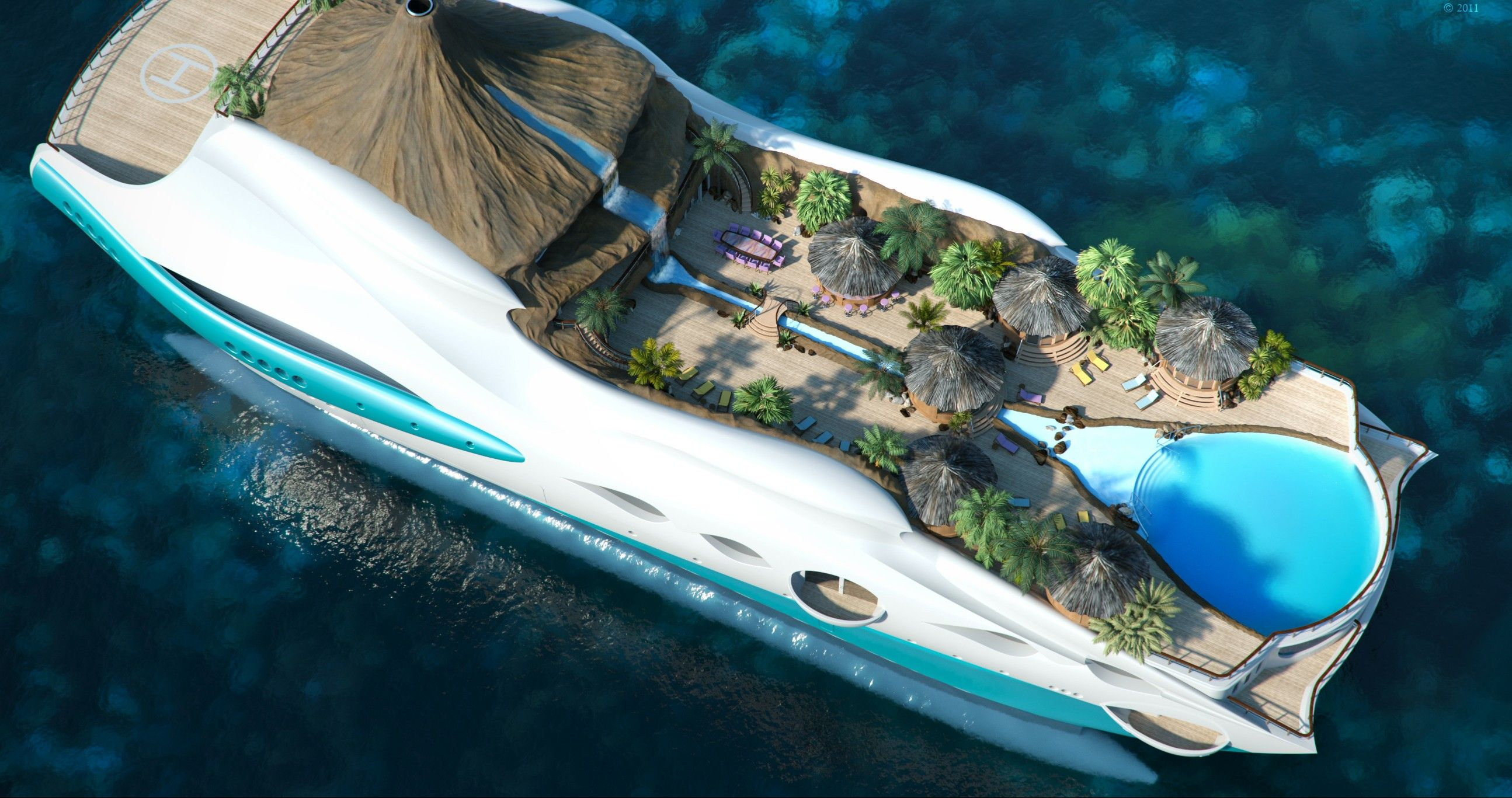 Top 12 Coolest Concept Yachts Ever Built