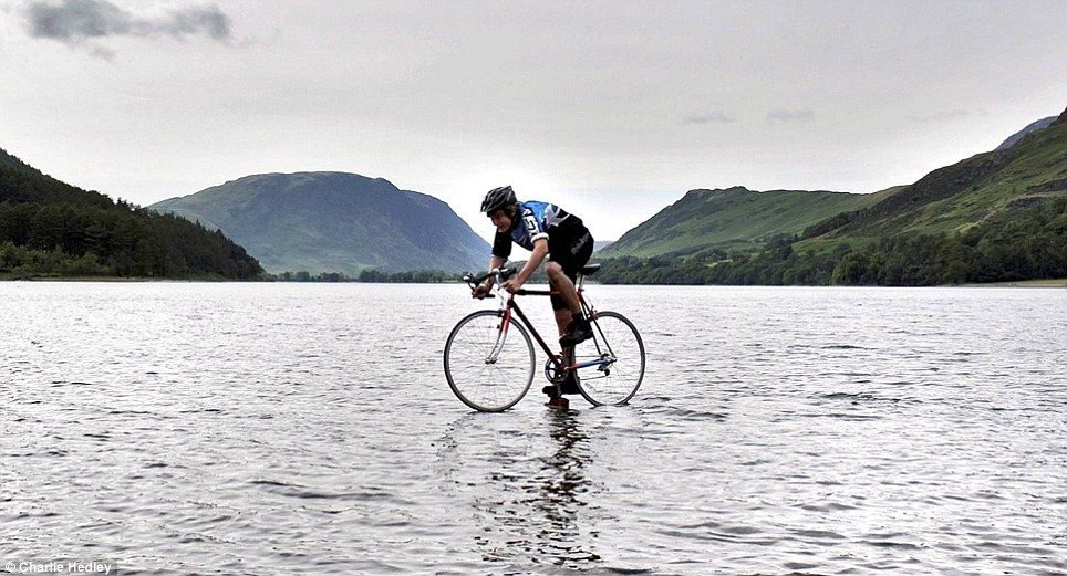 8. Biking On Water