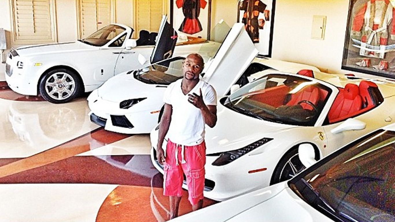 Top 10 Nicest Cars in Floyd Mayweather's Collection