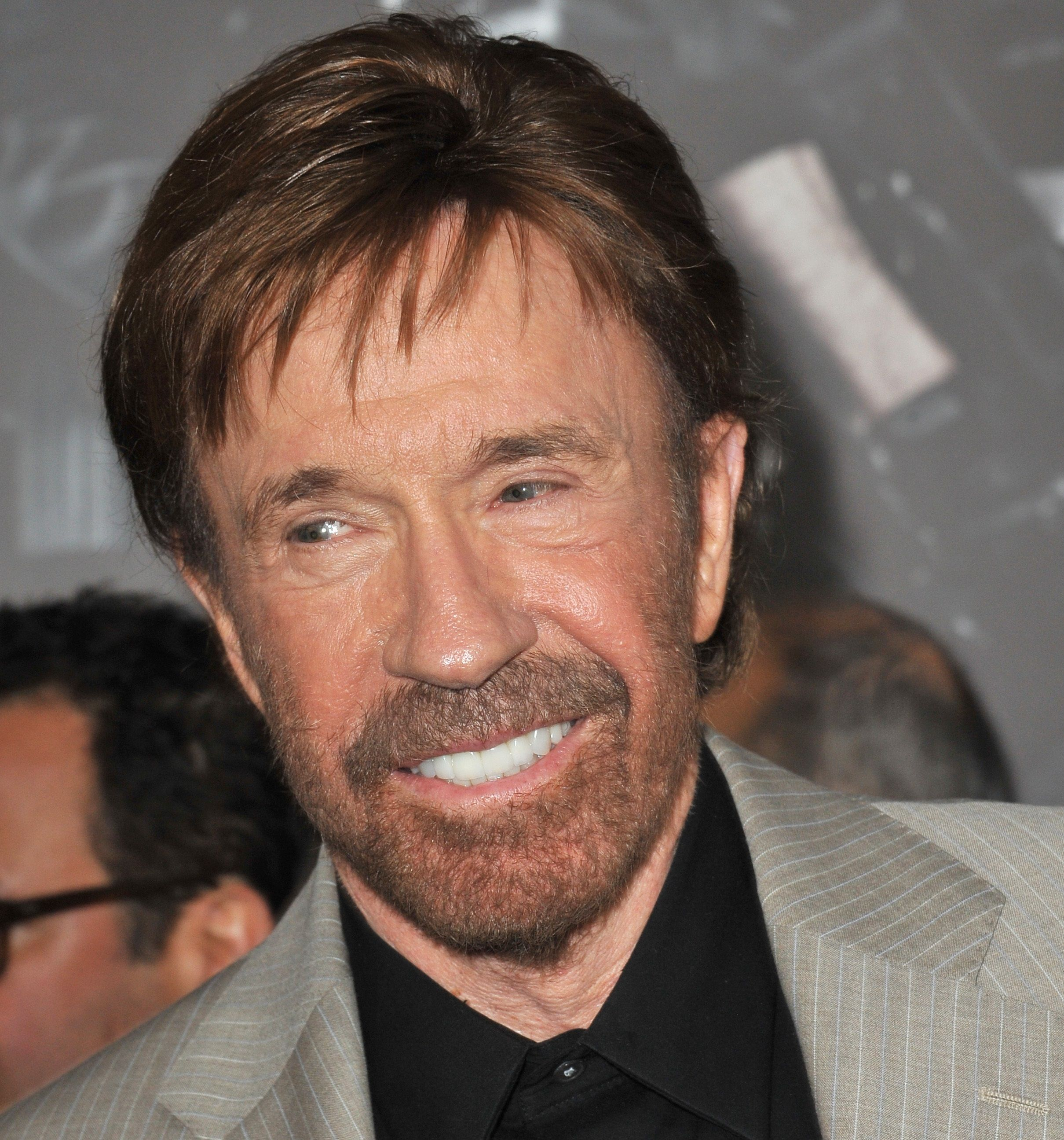 10. Chuck Norris is Actually Named Carlos Ray Norris