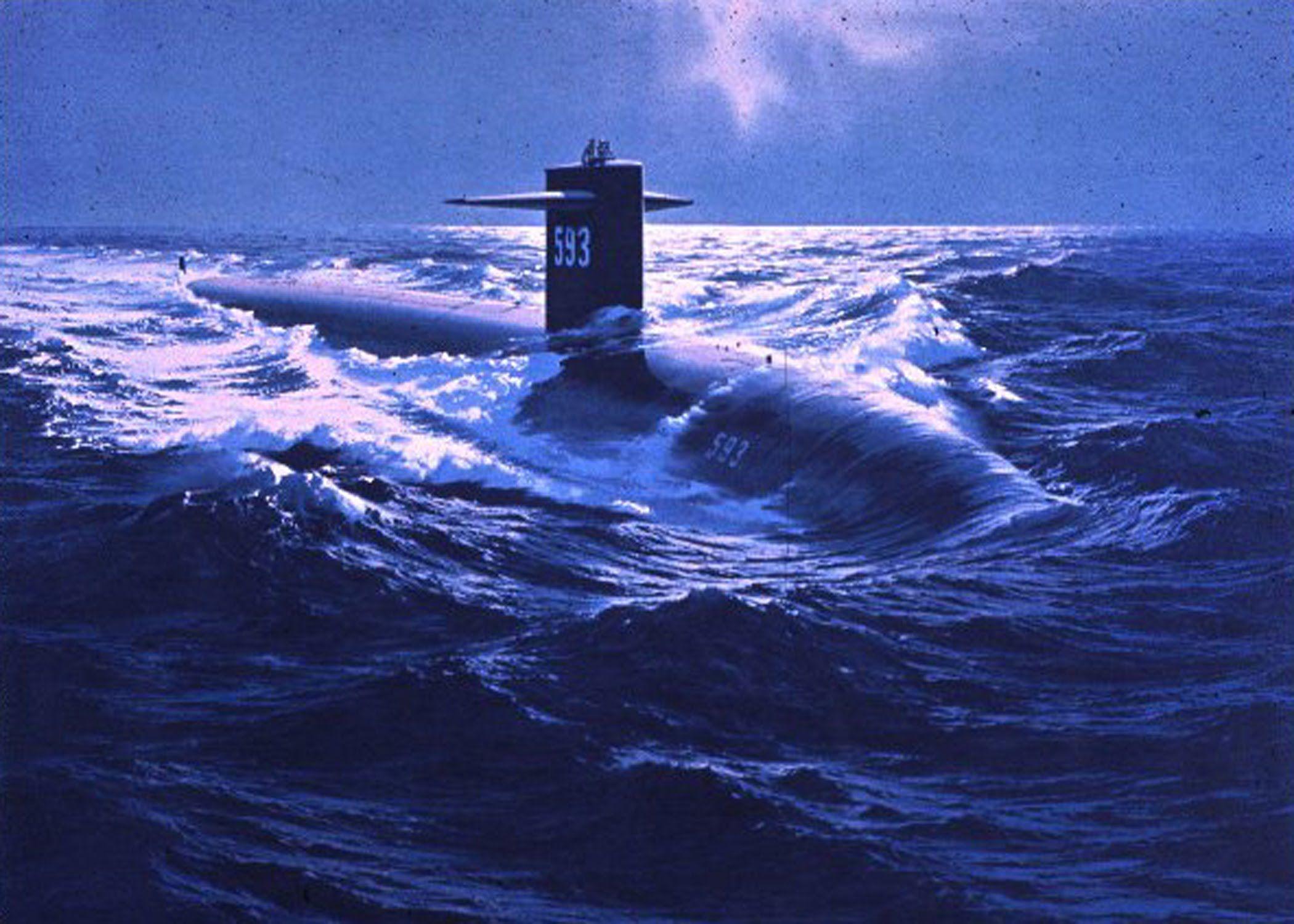4. Loss of Submarine USS Thresher