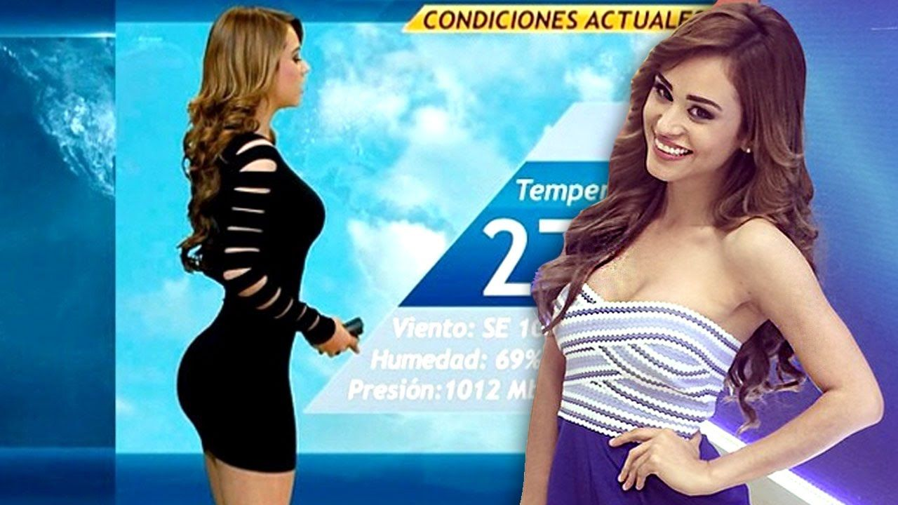 Top 10 Hottest Weather Reporters in the World