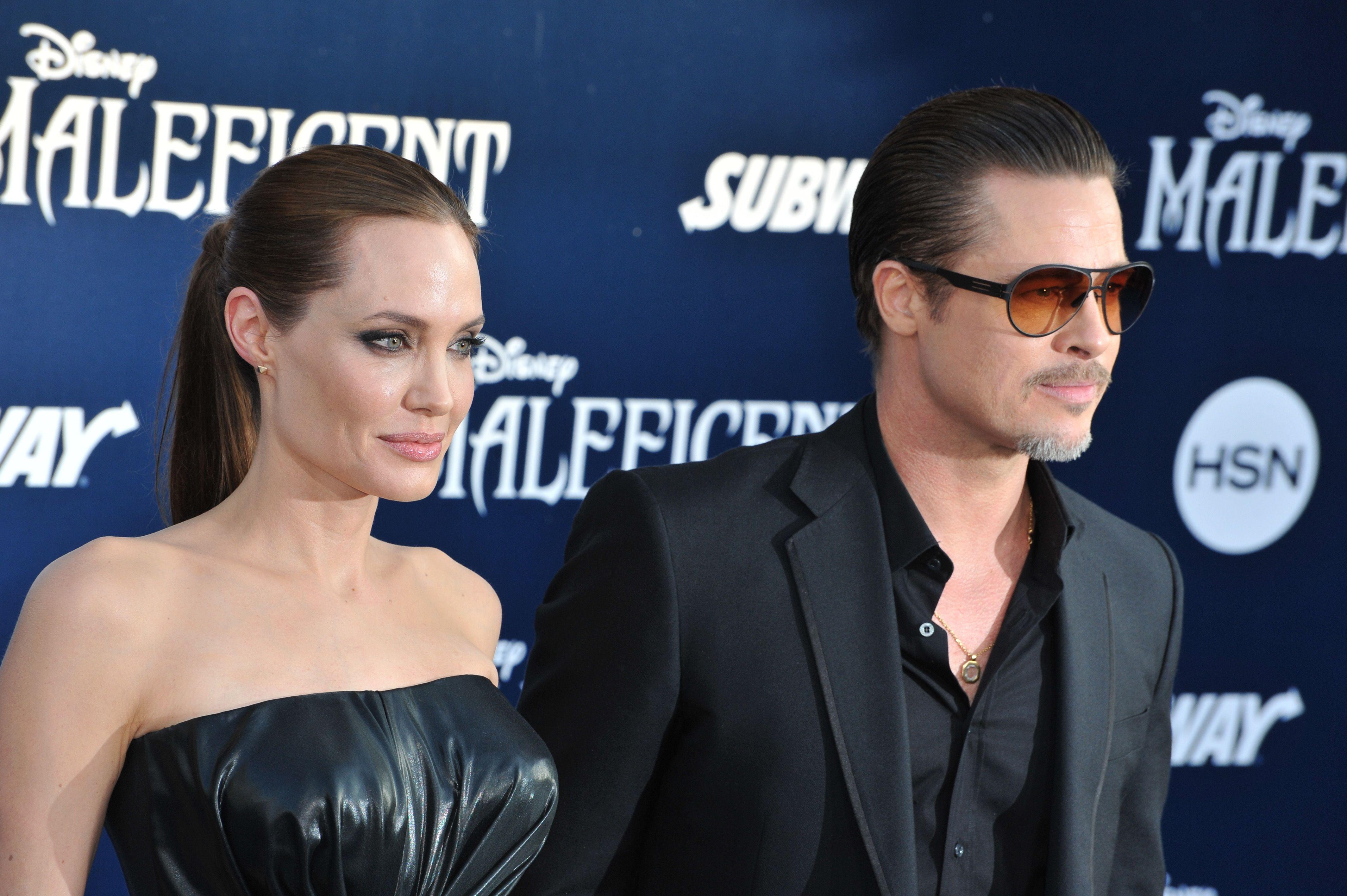 3. Brad Pitt & Angelina Jolie