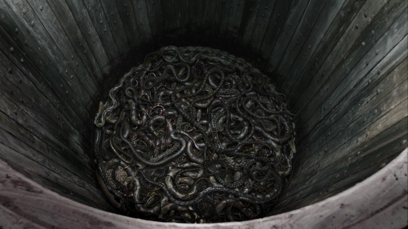 7. Snake Pits