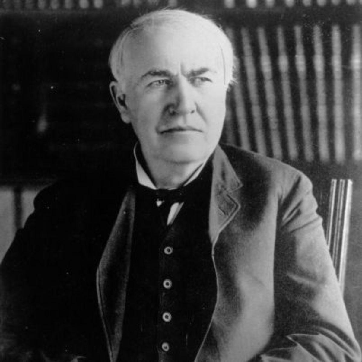 10. Thomas Edison – Inventor