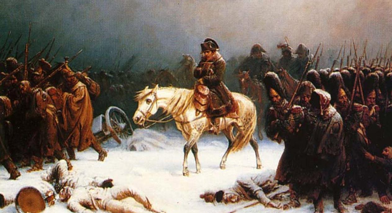 4. Napoleon attempts to invade Russia… during winter