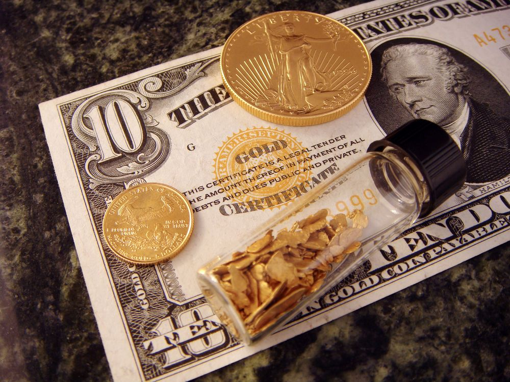 10. The government is cheapening gold for profit