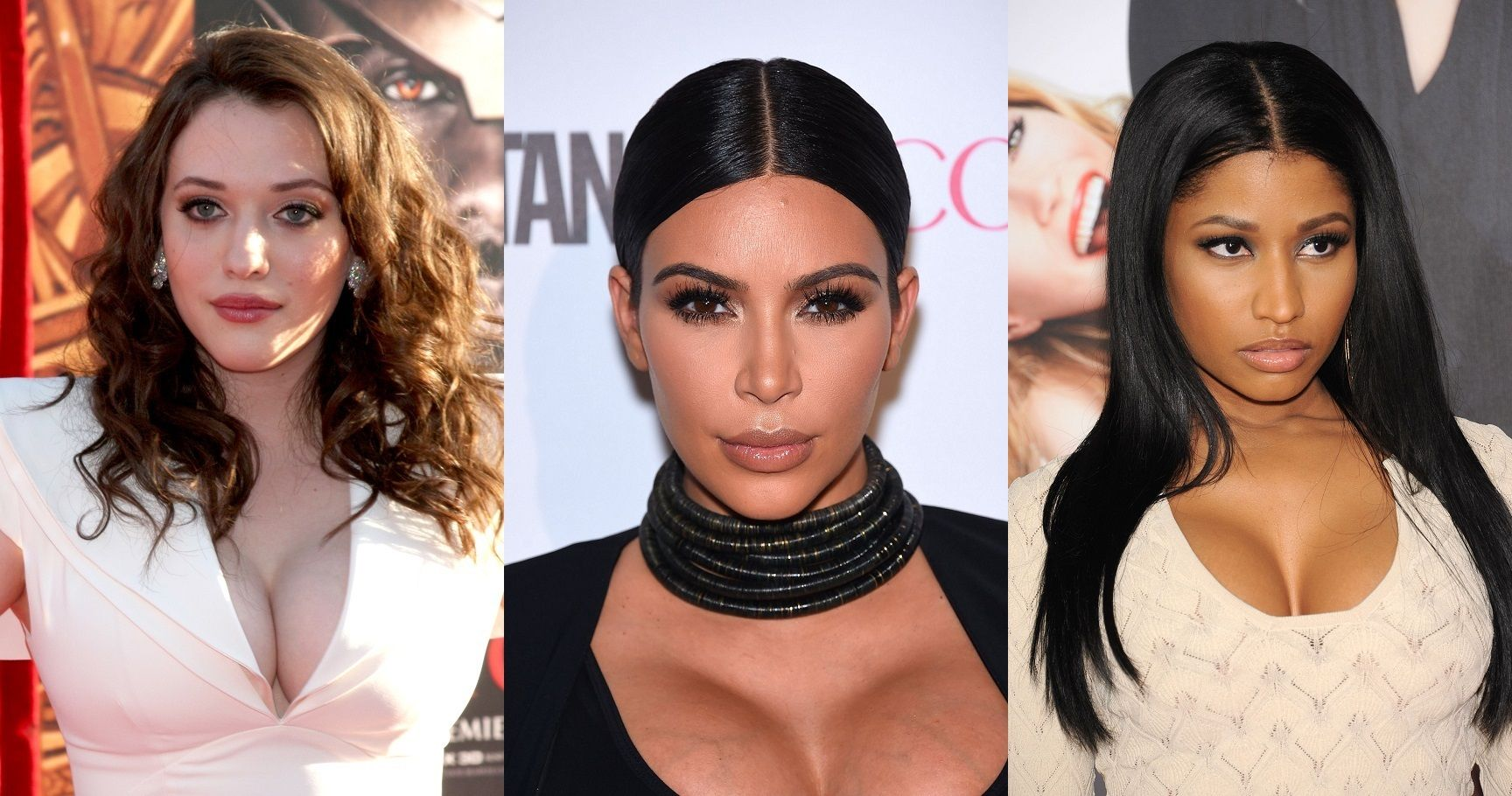 20 Sexiest Female Celebs Who Are Blessed In The Chest