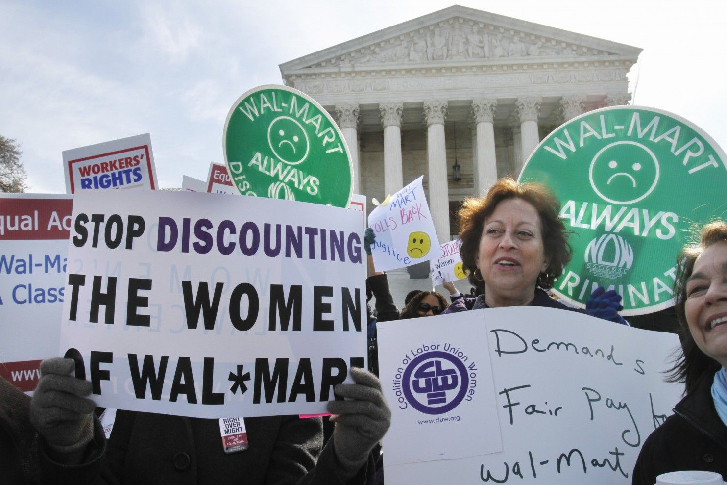 10. Walmart Discriminates Against Women