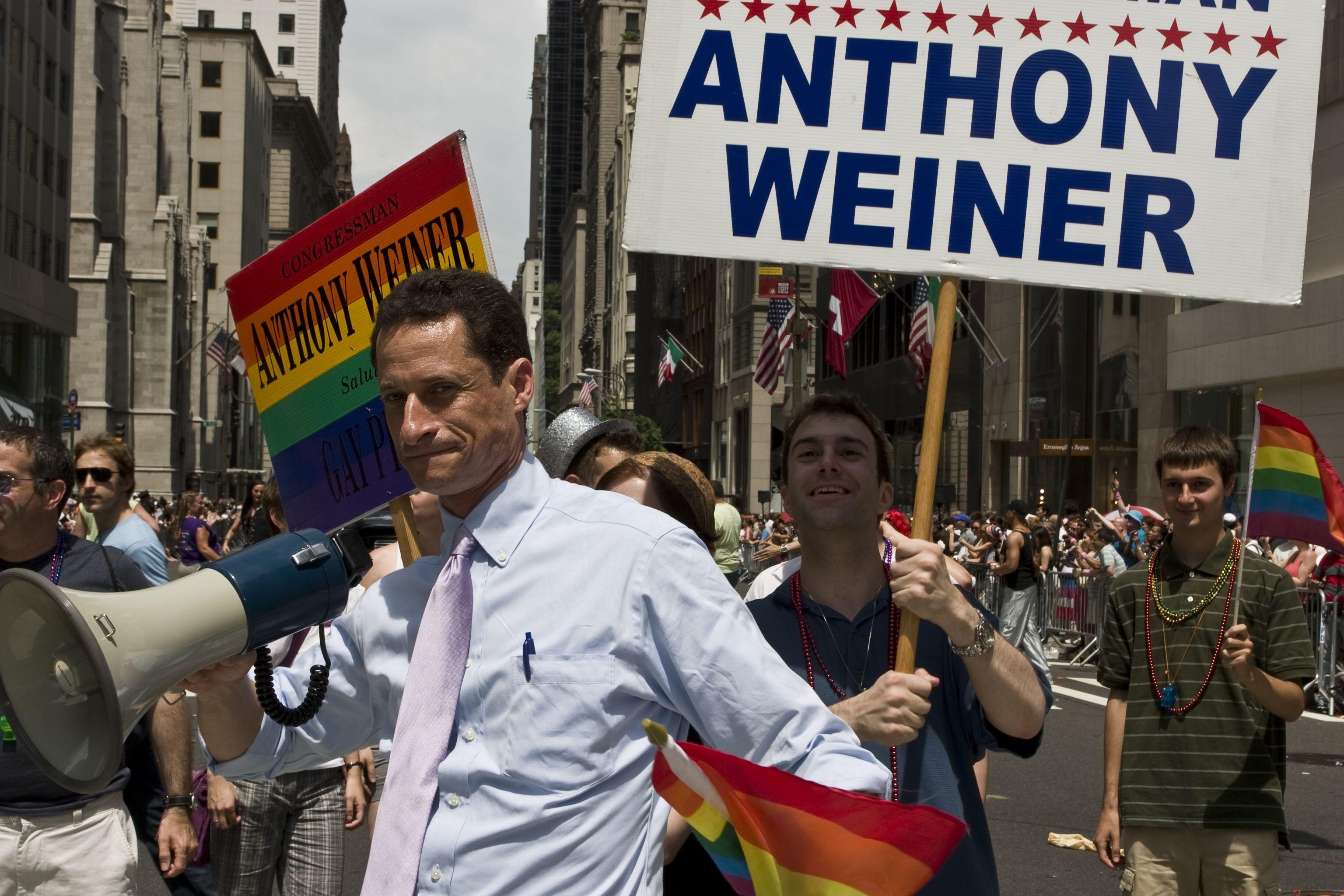 8. Anthony Weiner