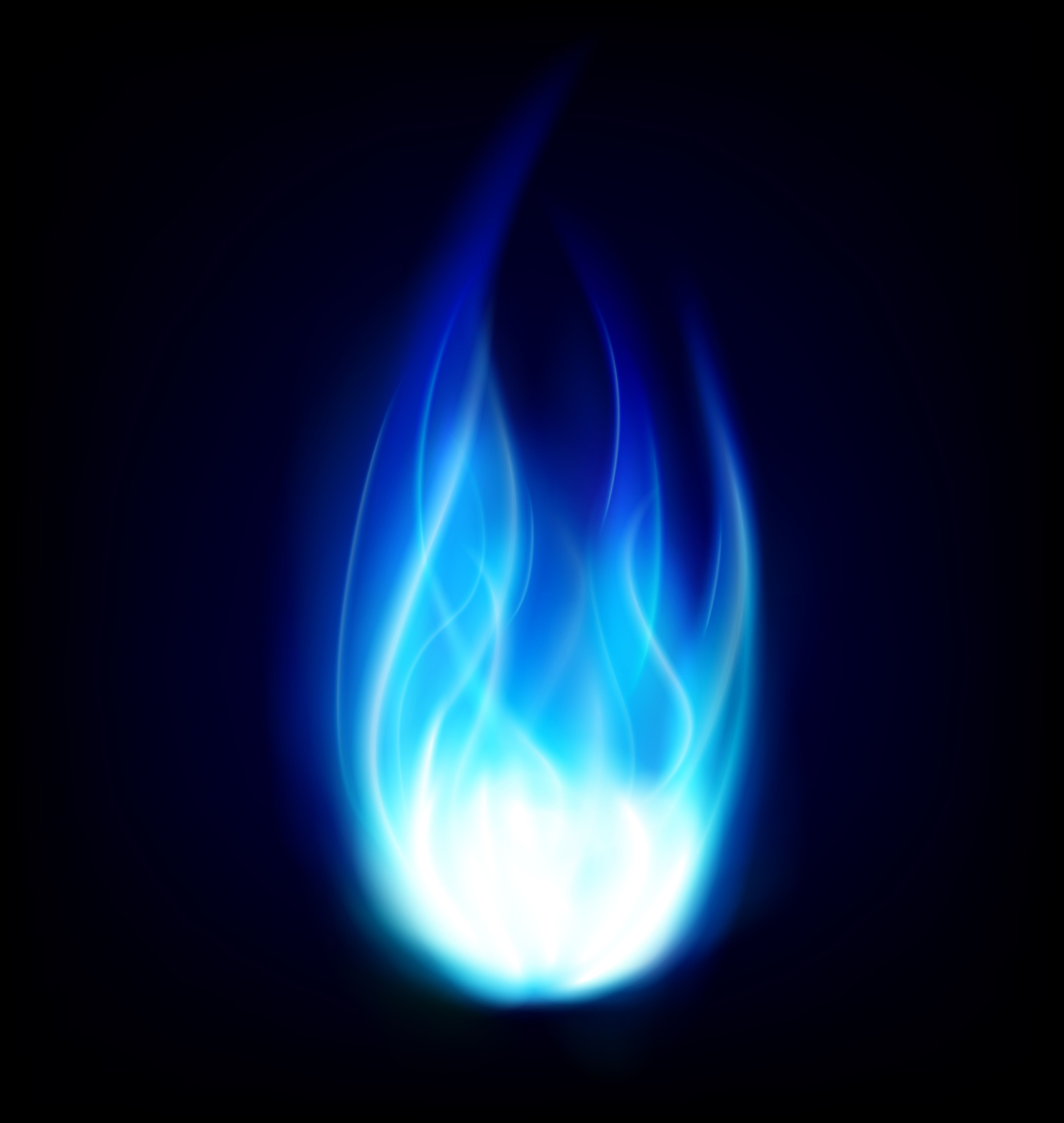Blue Flame Emanated From a Slit in His Stomach..