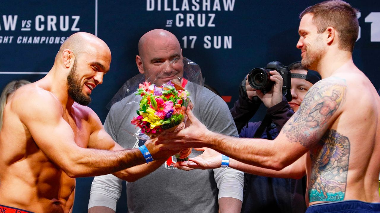 Hilarious Fighter Weigh-Ins You've Got To See
