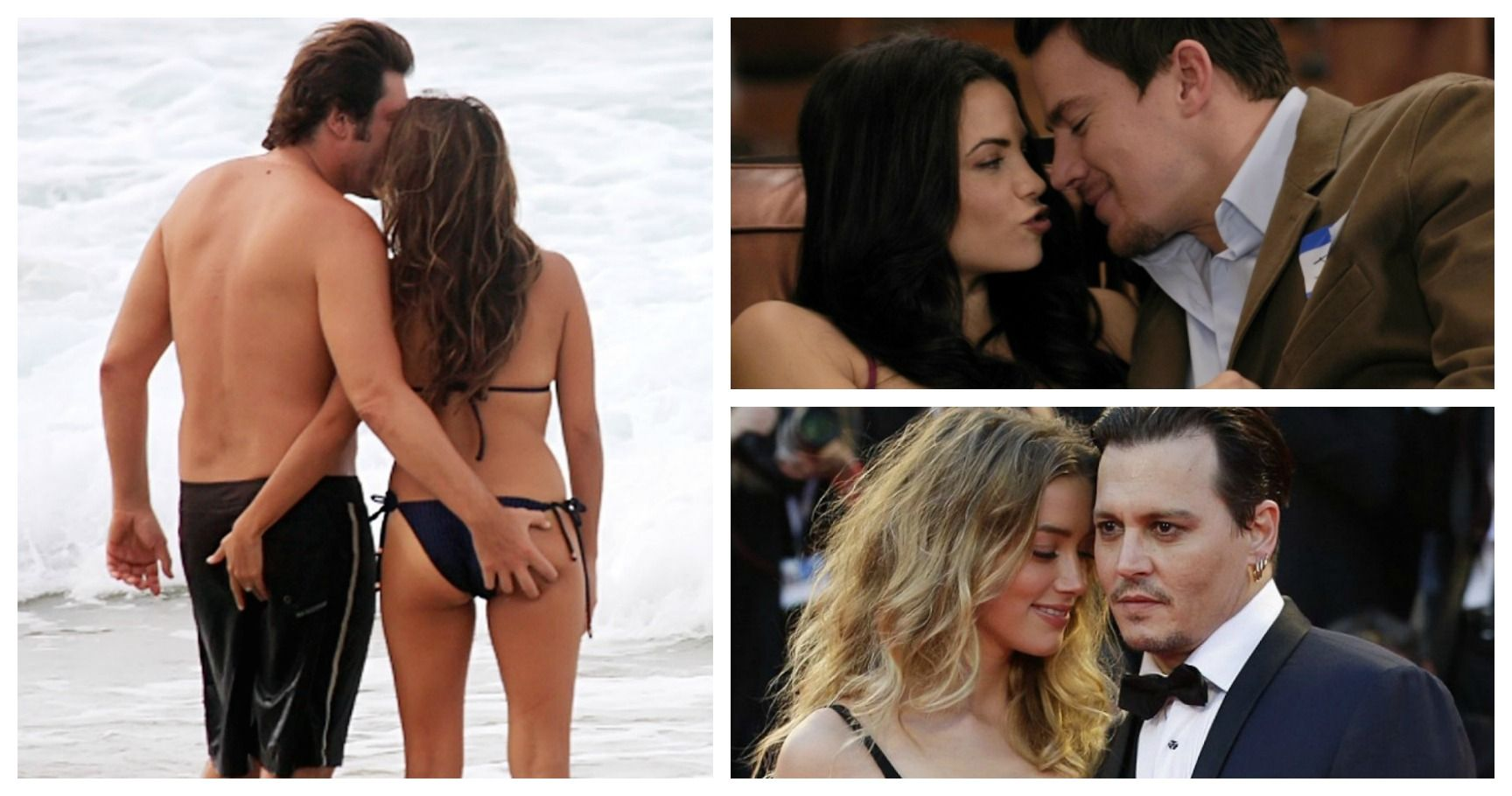 10 Celebrity Couples With The Hottest Love Life
