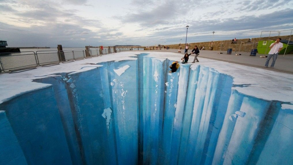 10 Most Amazing Street Art Optical Illusions