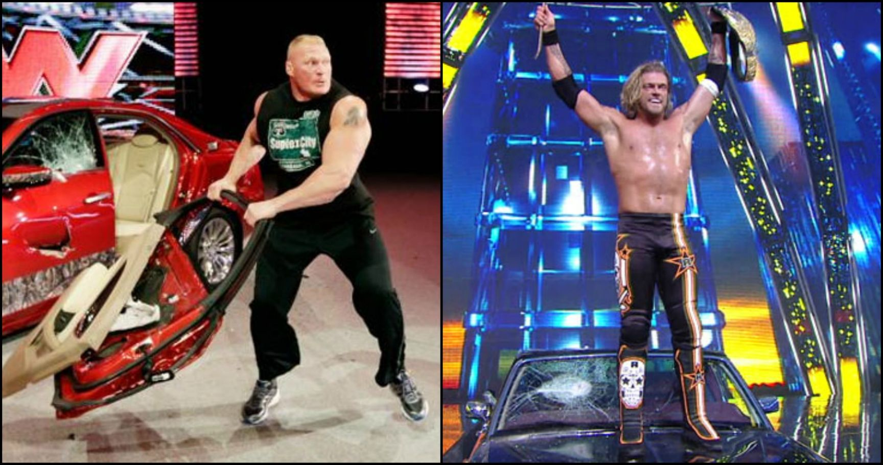 20 Most Hilarious Car Smashing Scenes in WWE History
