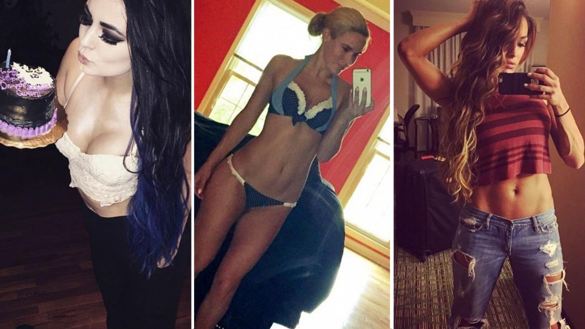 12 WWE Diva Instagram Photos Too Racy For TV