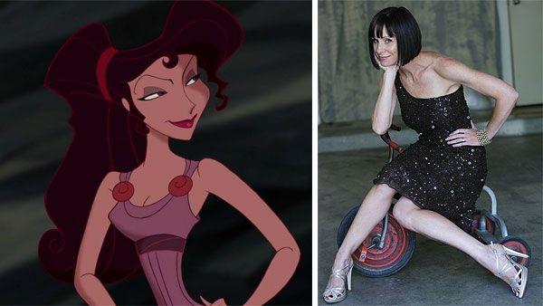 7. Susan Egan – Megara in Hercules
