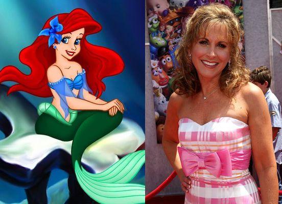 13. Jodi Benson – Ariel