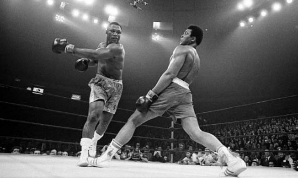14. Vs. Joe Frazier (Fight of the Century): May 8th, 1971