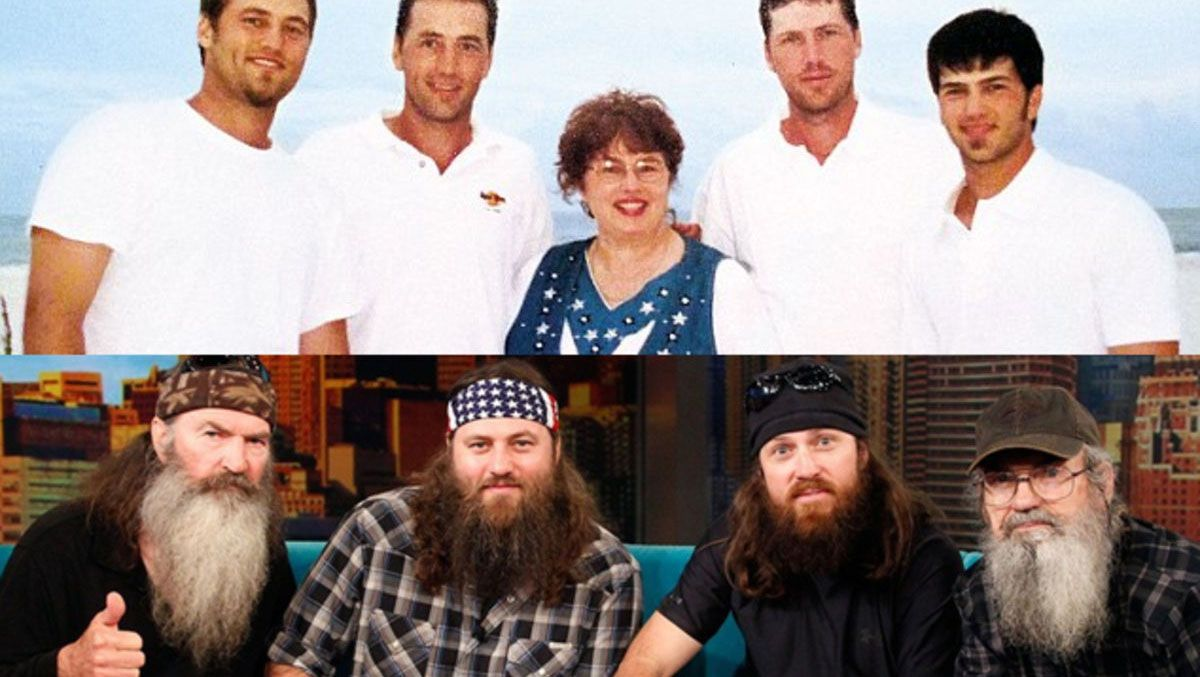 Duck Dynasty Better Before The Beard And With Without Perm For Korie
