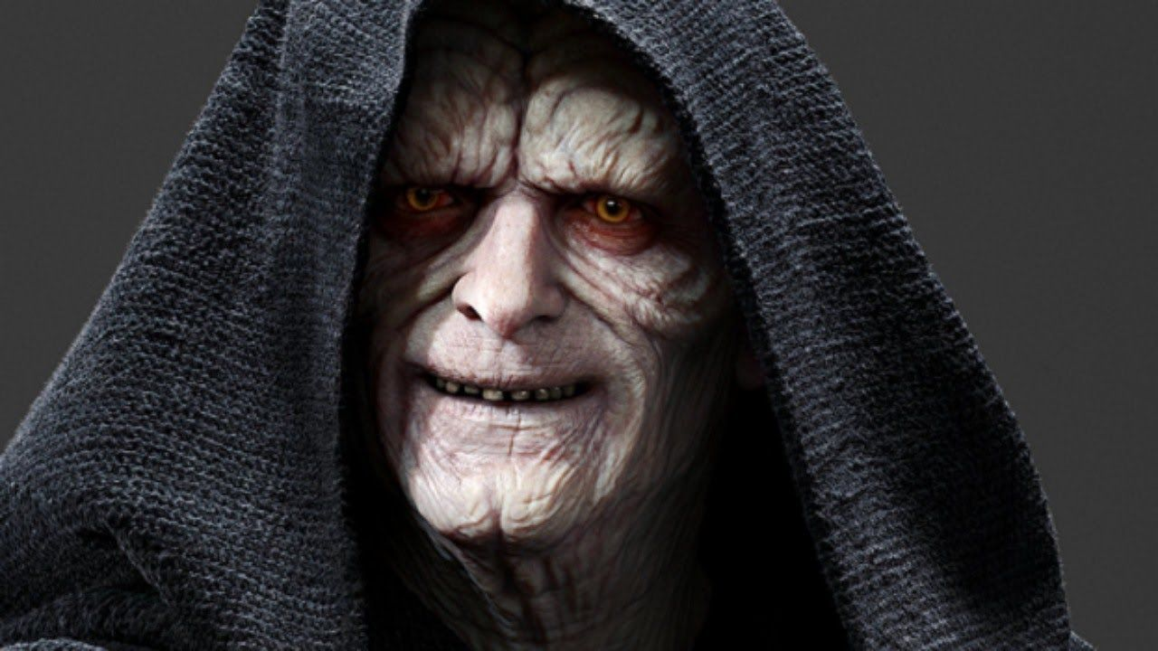 Palpatine- master of all villains