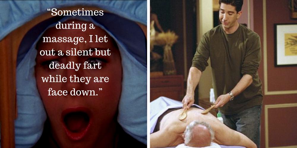 Old massage turns nasty