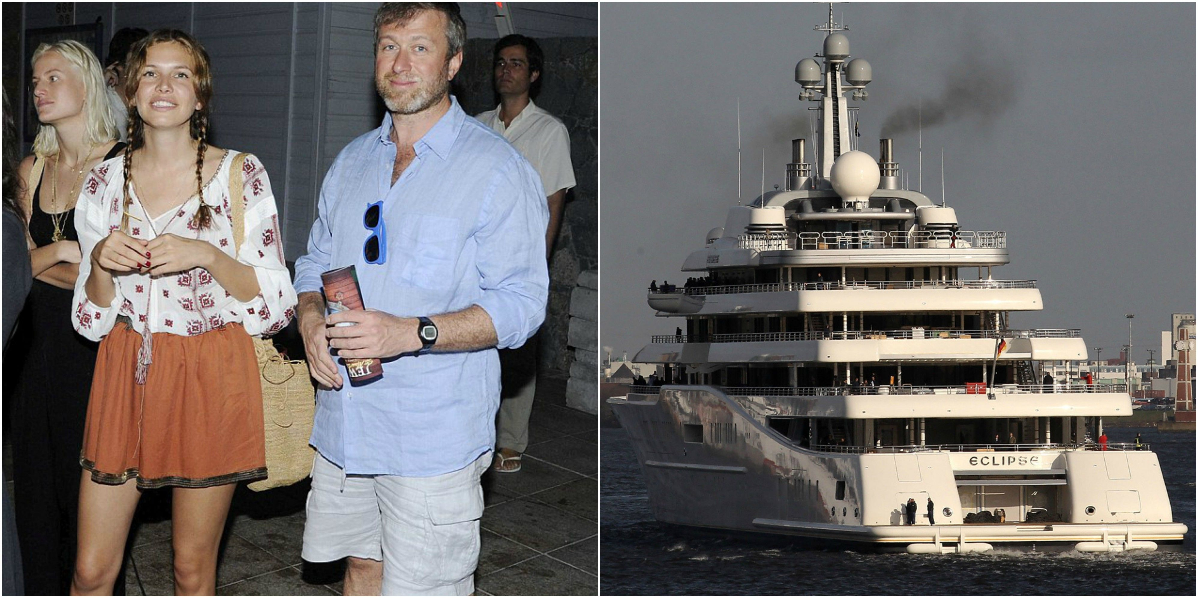 Roman Abramovich S 1 5b Yacht 15 Photos That Prove Money Isn T An