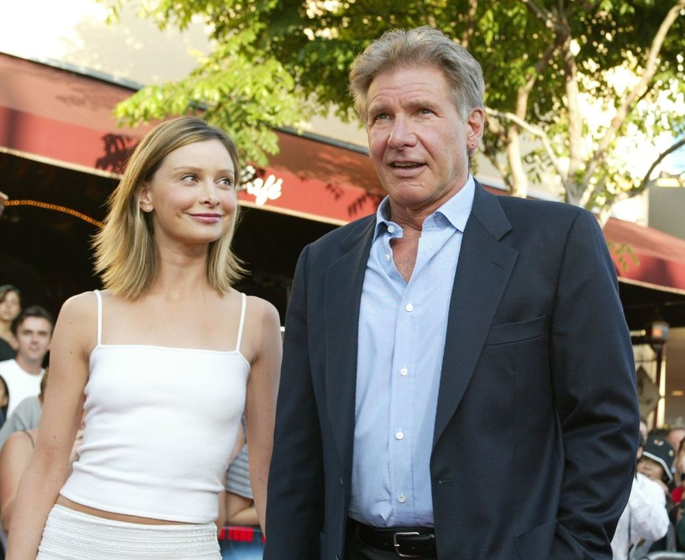 Calista Flockhart dan Harrison Ford