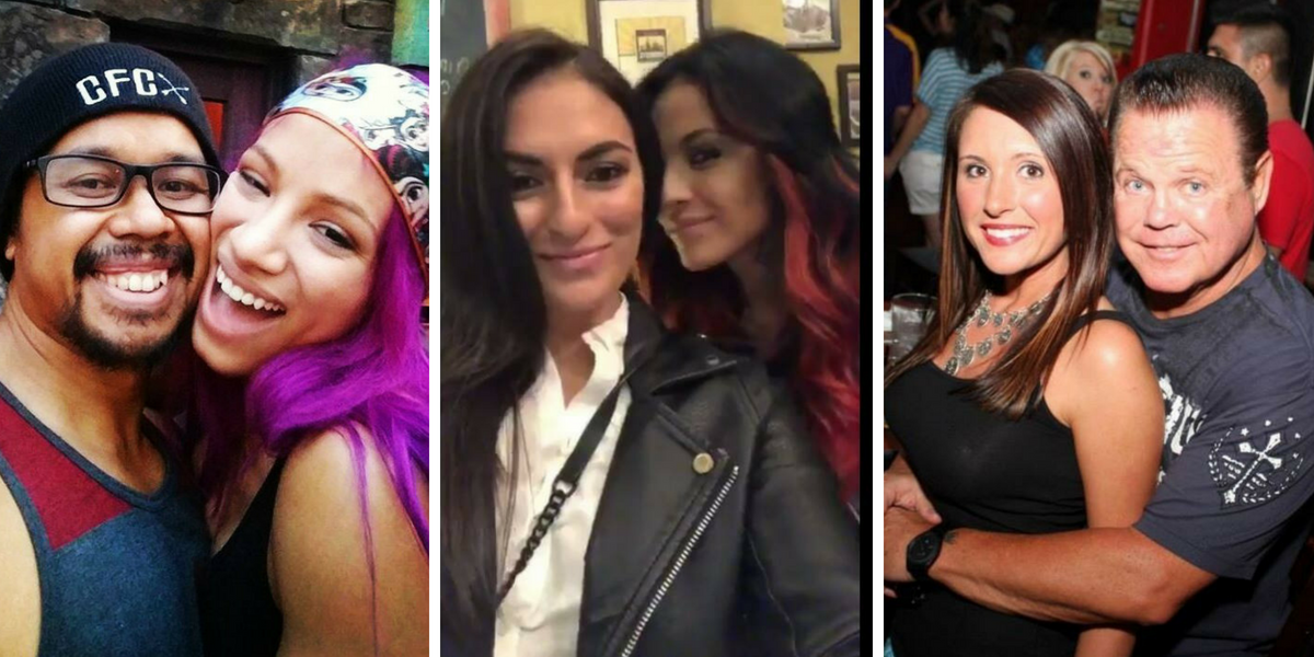 5 Superstars who are dating non-WWE wrestlers