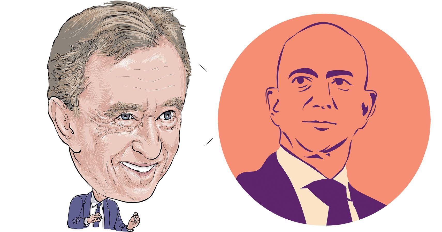 Bernard Arnault Surpasses Jeff Bezos To Become World's Wealthiest Person