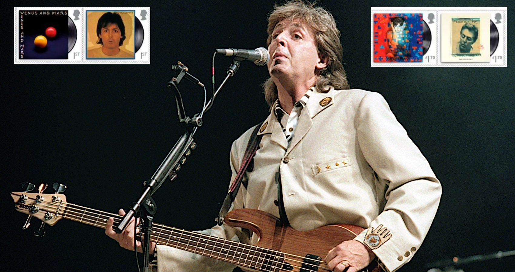 Paul McCartney Honored with His Own Royal Stamp Set