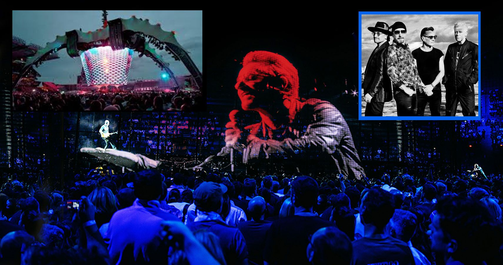 """Whatever Happened To U2's $30 Million """"360"""", The Most Expensive Concert Stage Ever?"""